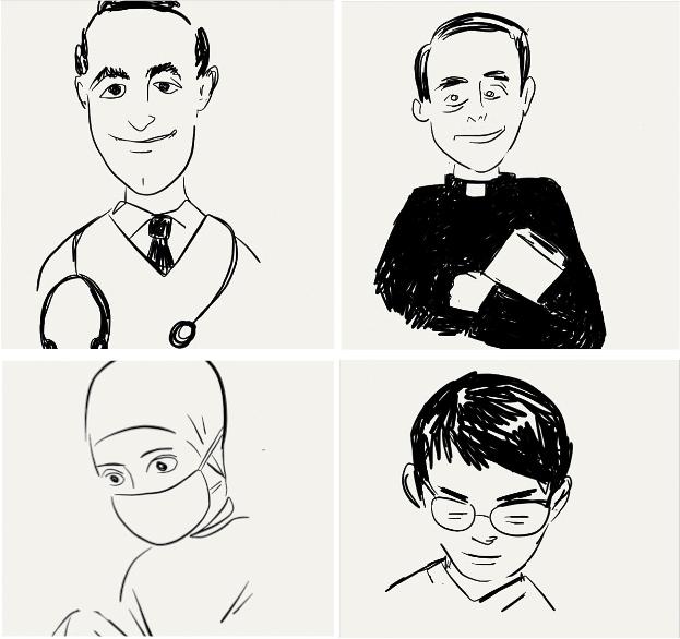 caras de hospital